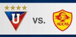 Liga de Quito vs Aucas 20 de Mayo 2016