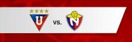 Liga de Quito vs El Nacional 4 de Mayo 2016