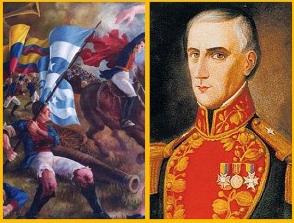 Lista de Personajes de la Batalla de Pichincha