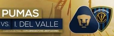 Pumas vs Independiente del Valle 24 de Mayo 2016