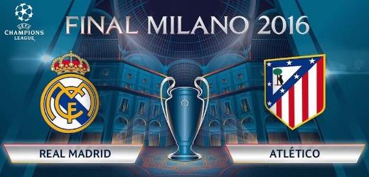 Real Madrid vs Atlético de Madrid 28 de Mayo 2016
