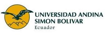 Lista de Carreras Universidad Andina Simón Bolívar