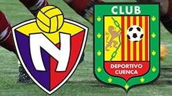 El Nacional vs Deportivo Cuenca 31 de Julio 2016