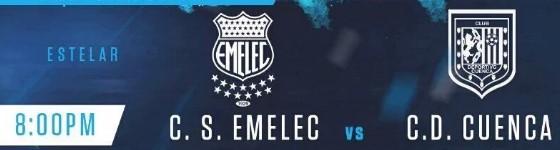 Emelec vs Deportivo Cuenca 08 de Julio 2016