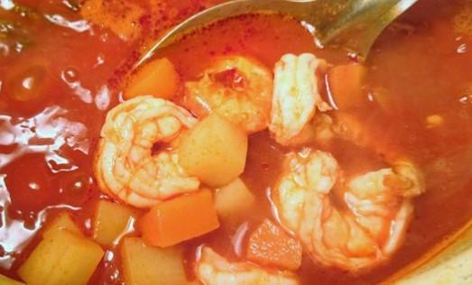 Sopa de Camarón (Receta y Preparación)