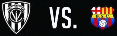Independiente del Valle vs Barcelona 26 de Agosto 2016