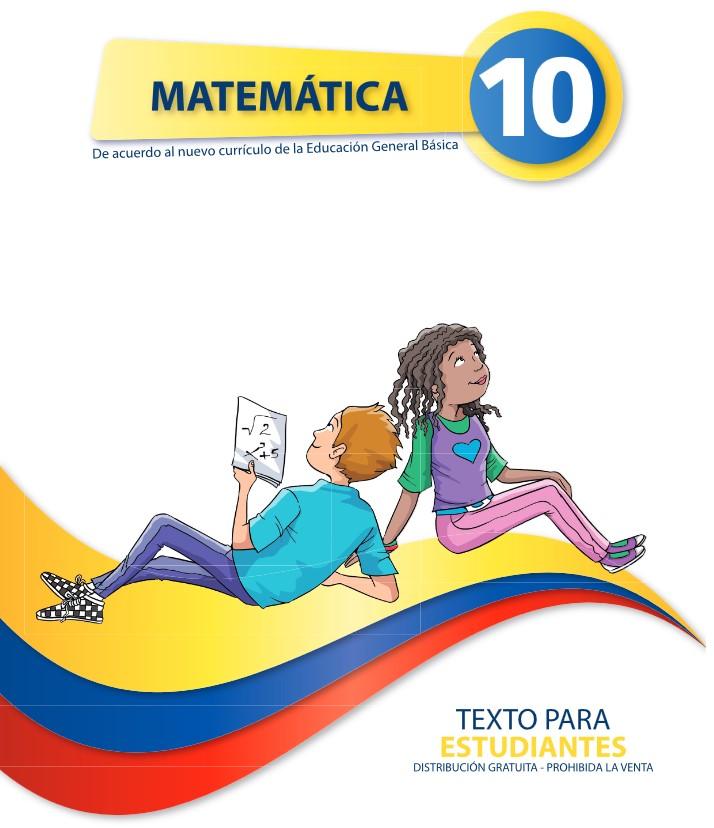 Libro de Matemática 10 del Ministerio de Educación