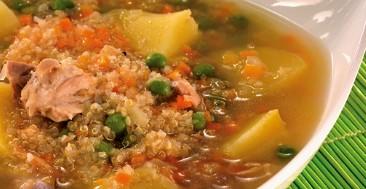 Sopa de Quinua (Receta y Preparación)