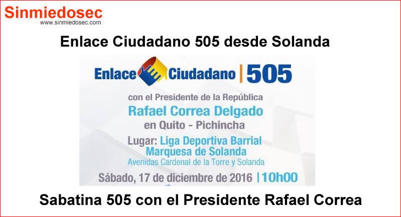 ENLACE CIUDADANO 505