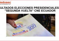 Resultados - Segunda Vuelta (Elecciones Ecuador Abril 2017)