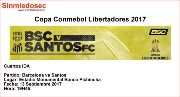 BARCELONA VS SANTOS (13-SEP-2017)