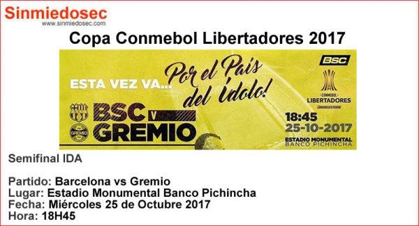 BARCELONA VS GREMIO (25-10-2017)
