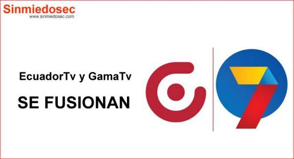 EcuadorTv y GamaTv se fusionan