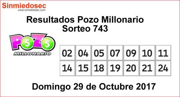 SORTEO 743 POZO MILLONARIO