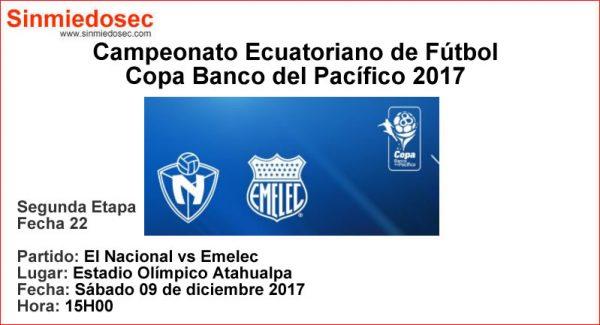 EL NACIONAL VS EMELEC (09-12-2017)