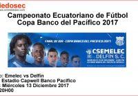 TÉCNICO UNIVERSITARIO VS LIGA DE QUITO (13-12-2017)